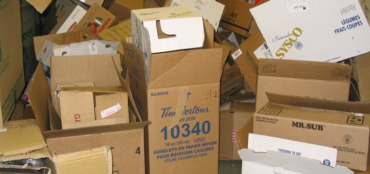 where can i get cardboard boxes for moving free