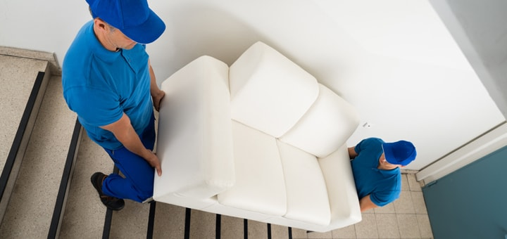 Moving furniture - hire professional movers