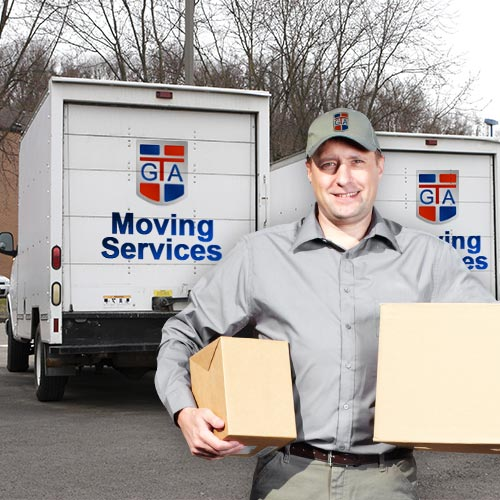 Gta moving company mover and two trucks