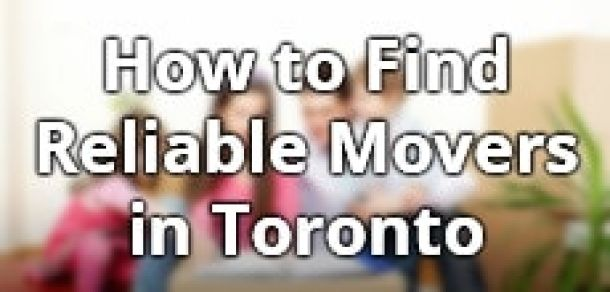 Find Toronto Moving Service